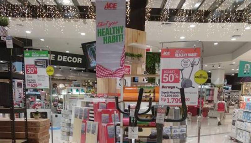 ACE Hadirkan Aneka Produk Inovatif Gaya Hidup Sehat
