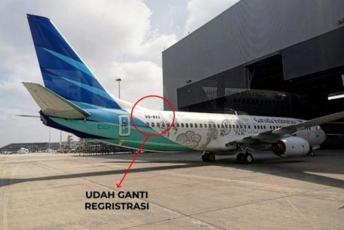 Ada Pesawat Garuda Ganti Kode Call Sign, Ini Artinya