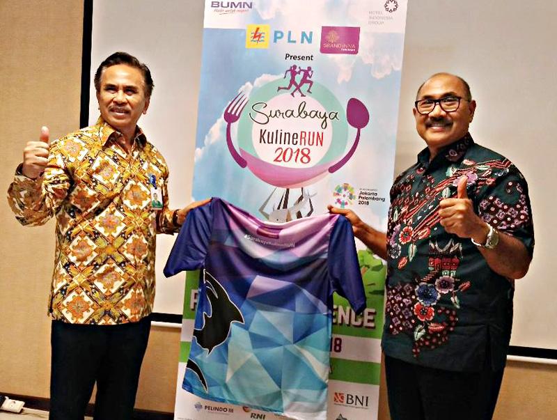 Angkat Kuliner Lokal, HIN gekar Surabaya KulineRUN 2018