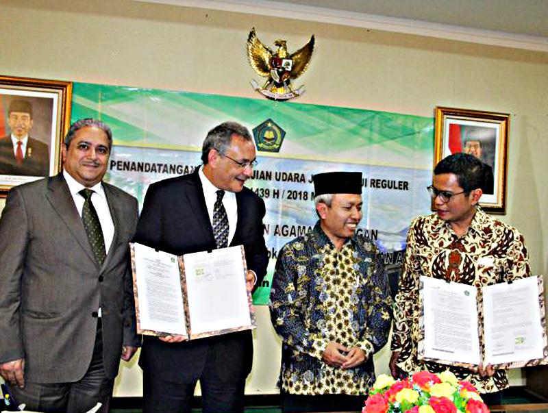 Angkut Calon Jemaah Haji 2018 Garuda Siapkan 14 Pesawat Wide Body