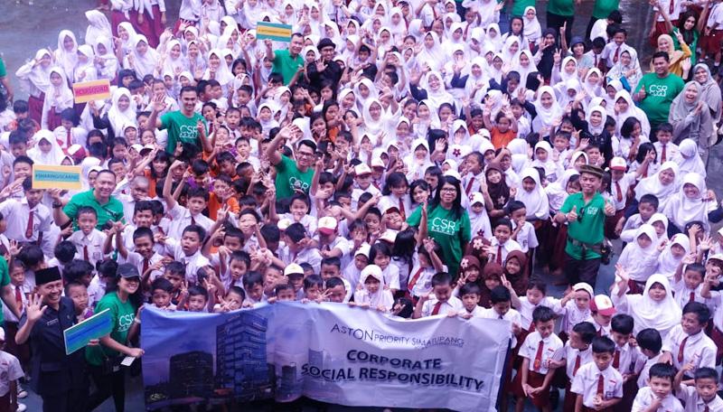 Aston Priority Simatupang Anak Anak-Anak Peringati Hari Lingkungan Hidup