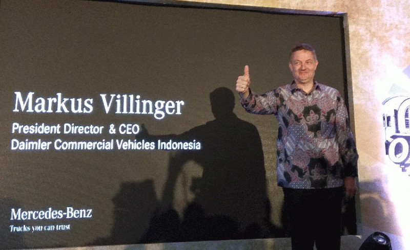 Bravo, Daimler Commercial Vehicles Indonesia Akan Hadir di GIICOMVEC 2018