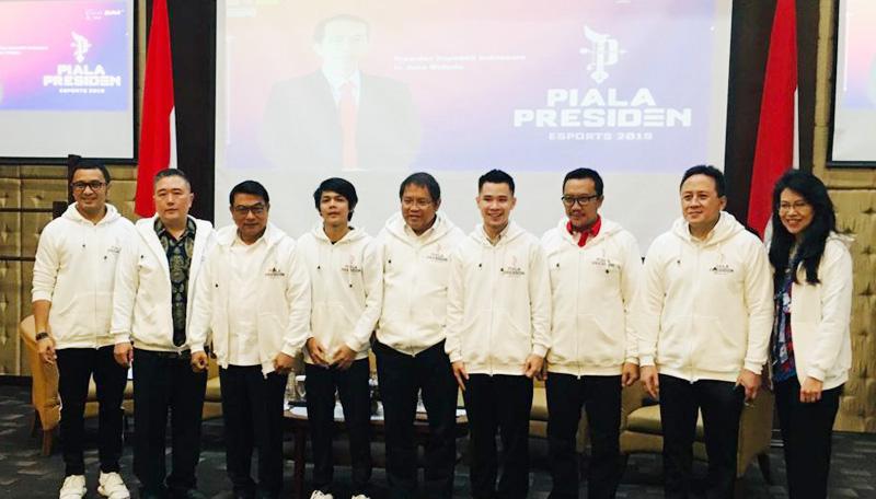 Blibli.com Dukung Presiden Esports