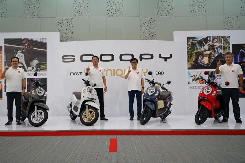 Buat Para Pecinta Skutik, All New Honda Scoopy Resmi Mengaspal di Indonesia