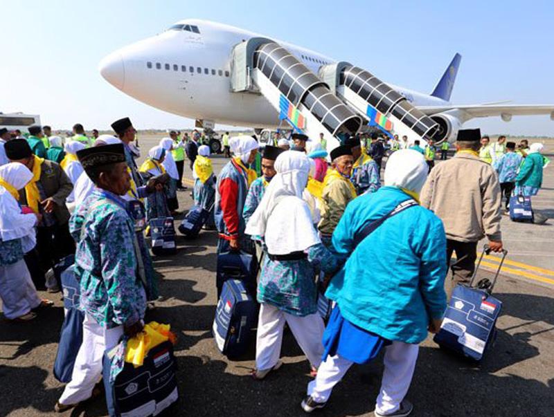 Calon Jemaah Haji Diberangkatkan dari 6 Bandara AP I