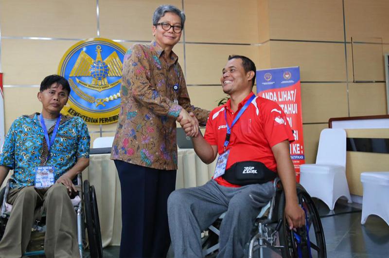 Dirjen Hubdat Siapkan Bus Mudik Gratis Untuk Penyandang Disabilitas