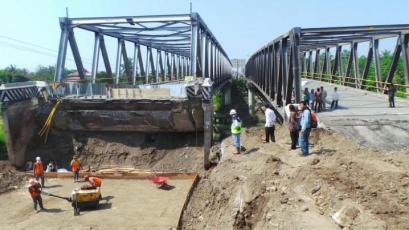 Dua Jembatan Di Pantura Masih Diperbaiki, Diprediksi Timbulkan Kemacetan