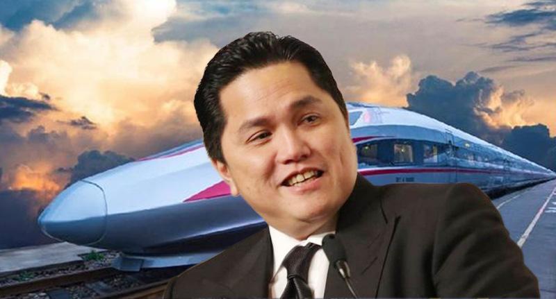 Erick Thohir Ingin Percepat Proyek Kereta Jakarta – Bandung