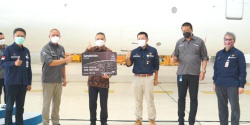 Garuda Indonesia dan SKK Migas Jalin Kemitraan Strategis