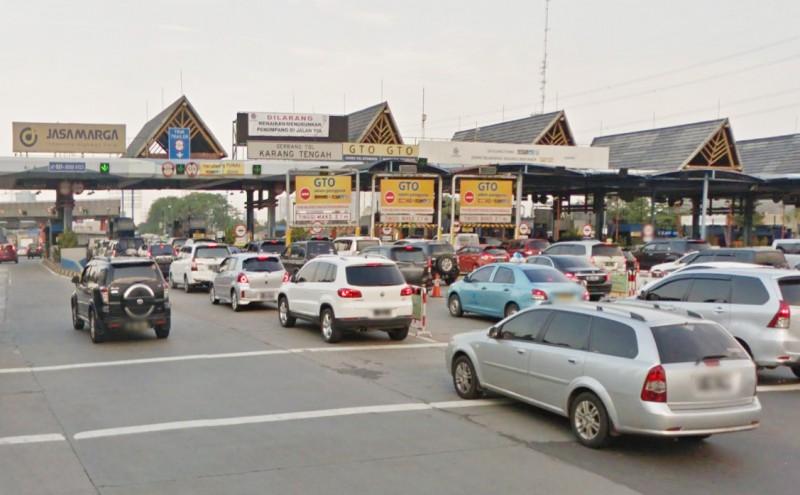 Gerbang Tol Karang Tengah Siap Dibongkar