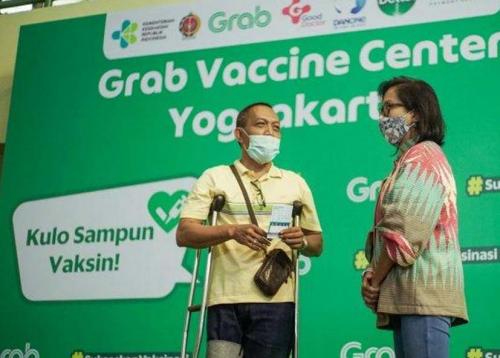 Grab Distribusi Vaksin di 53 Kota & Kabupaten se-Indonesia
