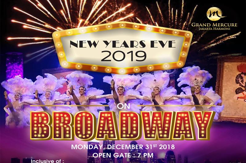 """Grand Mercure Jakarta Harmoni, Rayakan Tahun Baru Usung """"Broadway Party"""""""