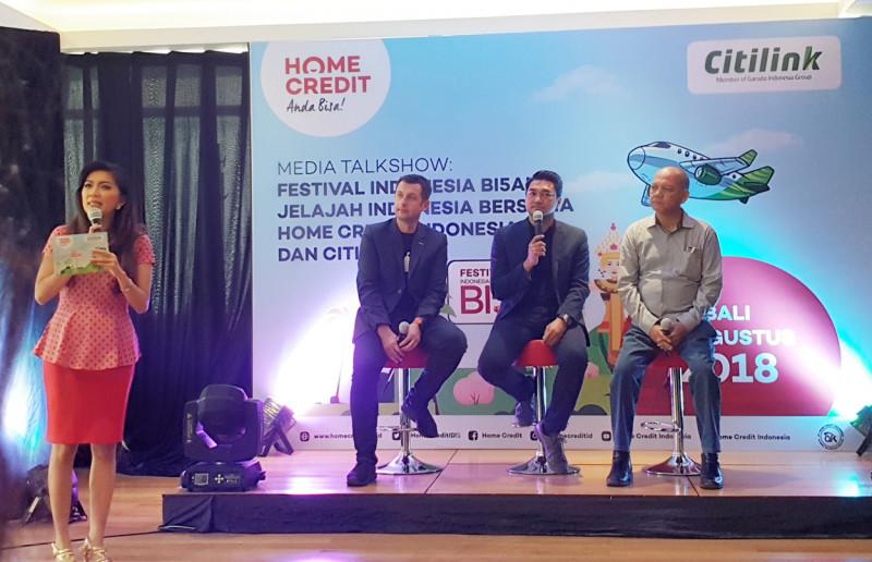 """Home Credit Indonesia Suguhkan Festival """"Indonesia Bi5a!"""""""