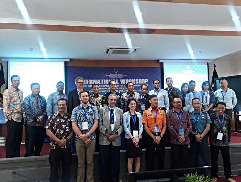 Indonesia Gelar Forum Internasional Pemisahan Alur Pelayaran Selat Sunda dan Selat Lombok