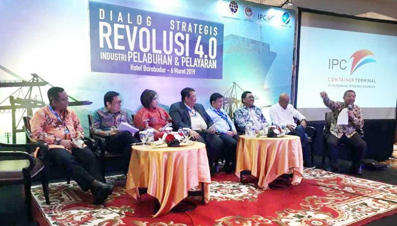 Industri Pelabuhan dan Pelayaran Siap Hadapi Revolusi 4.0