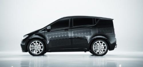 Ini Dia Penampakan Mobil Listrik Bertenaga Surya