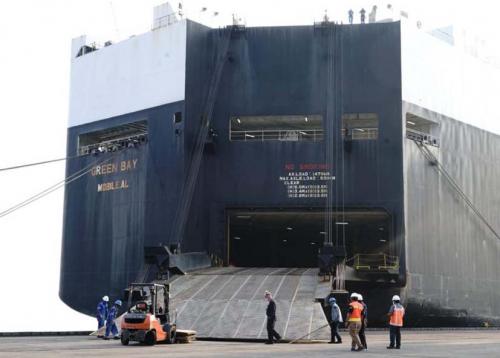 IPC Fasilitasi Bongkar Muat Alat Tempur Kgiatan Garuda Shield15
