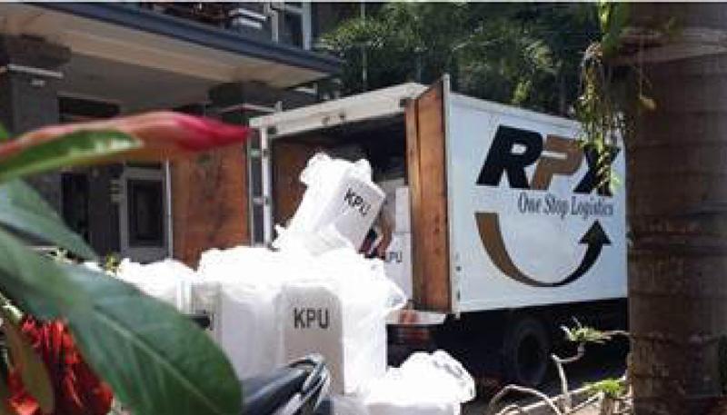 Jelang Pemilu, RPX Ditsribukan Kotak Suara