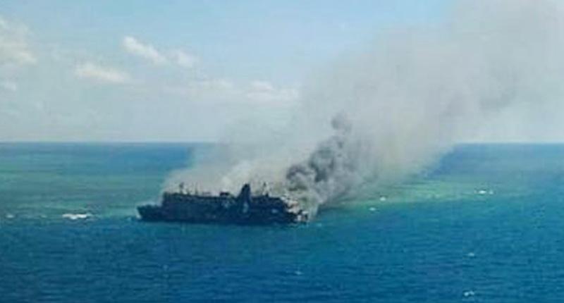 Kapal KM. Santika Nusantara Terbakar, Tidak Ada Korban Jiwa