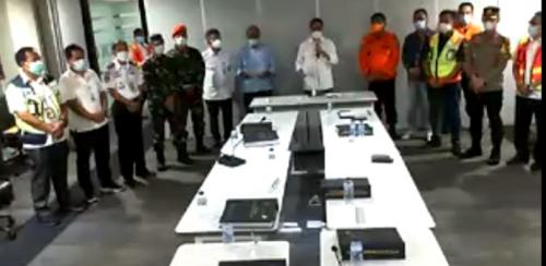 Kemenhub Beberkan Kronologis Hilangnya Sriwijaya Air  SJ-182