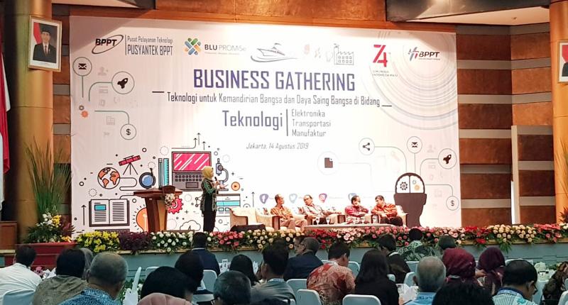 Kenalkan Produk Unggulan Hasil Inovasi, BPPT Gelar Bussiness Gathering