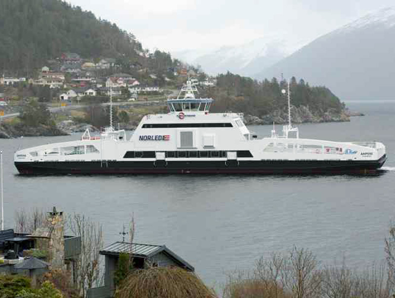 Keren, Akhirnya Ada Kapal Ferry Bertenaga Listrik Pertama di Dunia