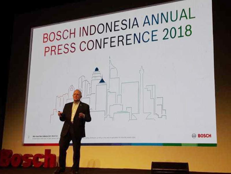 Keren, Bosch Catat Kinerja Moncer di Indonesia