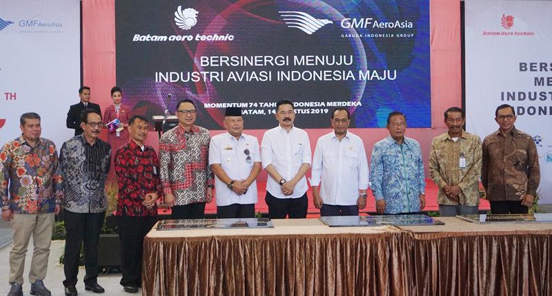 Kolaborasi BAT dan GMF Bangun Hanggar Tahap III dan Hanggar Joint Venture