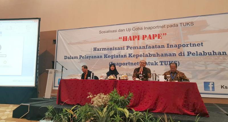KSOP Banten Berlakukan Inaportnet Pada TUKS