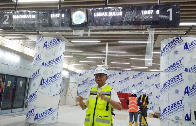 Kurang 4 Bulan Lagi MRT Jakarta Beroperasi, Begini Kesiapannya
