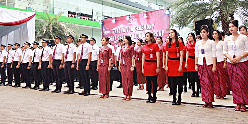 Lion Air Group Lantik 97 Awak Pesawat