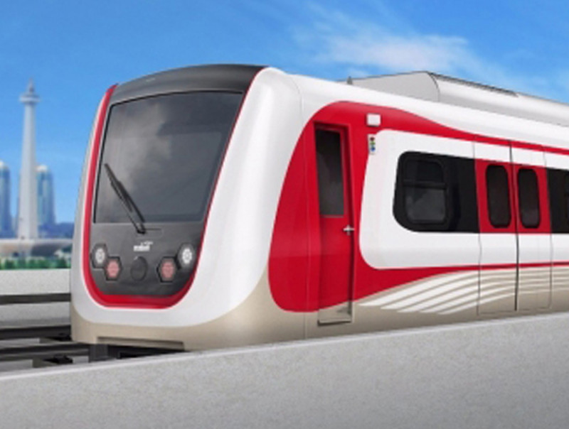 LRT Cibubur - Bogor Segera Dibangun