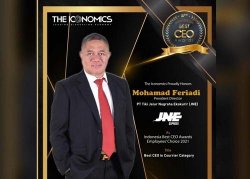 M Feriadi Soeprapto Dinobatkan Sebagai Best CEO Award 2021