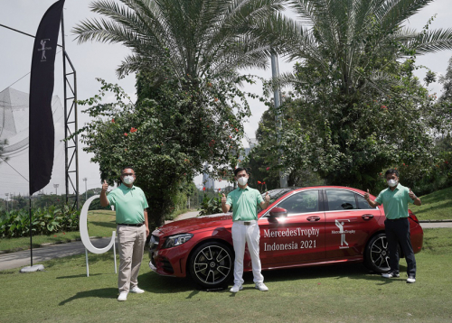 Mercedes-Benz Ajak Pelanggan Setianya Berpartisipasi di Golf MercedesTrophy Indonesia 2021