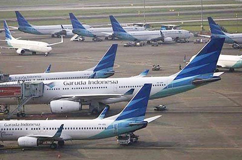 Nyaris Tabrakan, Insiden Garuda Salah Taxiway Diperiksa Hubud