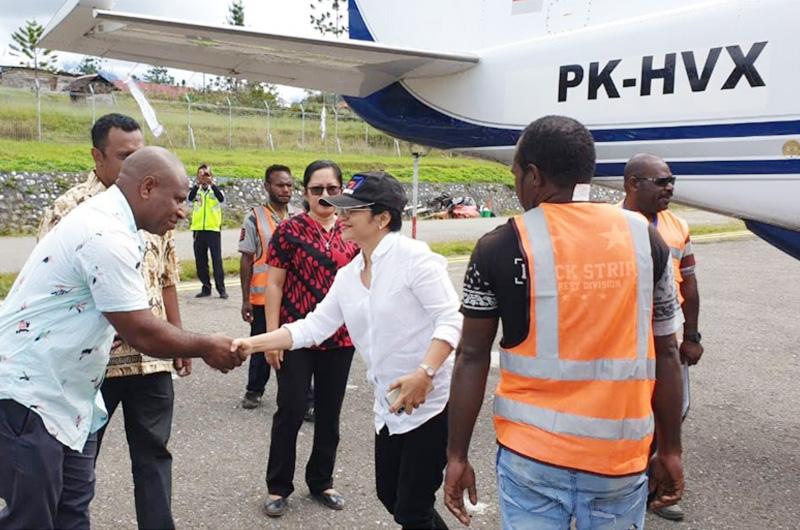 Pantau Pelaksanaan Program Subsidi Kargo Perintis Papua