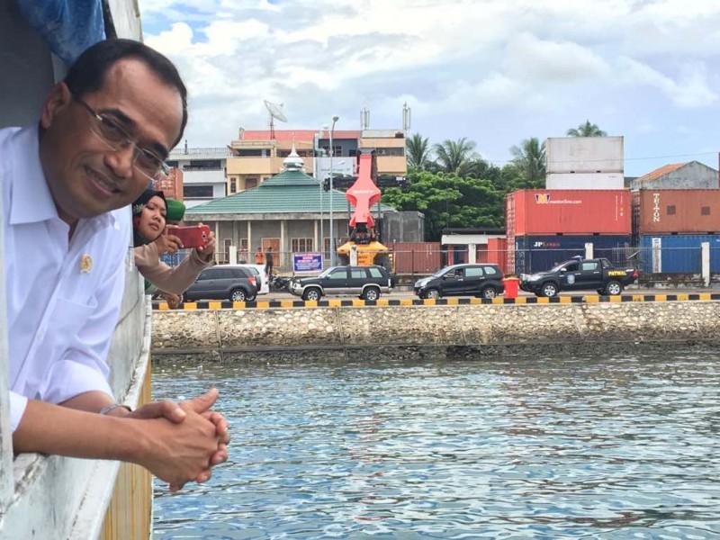 Pelabuhan Murhum Baubau Menjadi Hub Indonesia Barat dan Timur