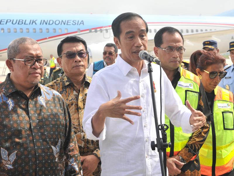 Pendaratan Perdana Pesawat Presiden Menandai Beroperasinya Bandara Kertajati