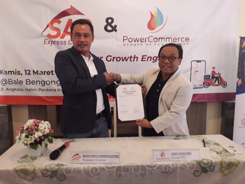 Perkuat Lini Bisnis, SAP Express Gandeng PowerCommerce.Asia