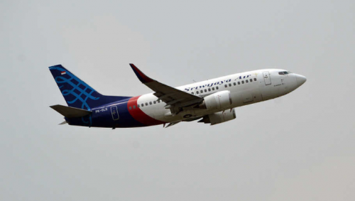 Pesawat Sriwijaya Rute Jakarta-Pontianak Hilang Kontak