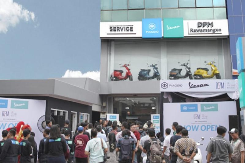 Piaggio Indonesia Perluas Jaringan Diler Baru Berkonsep Motoplex