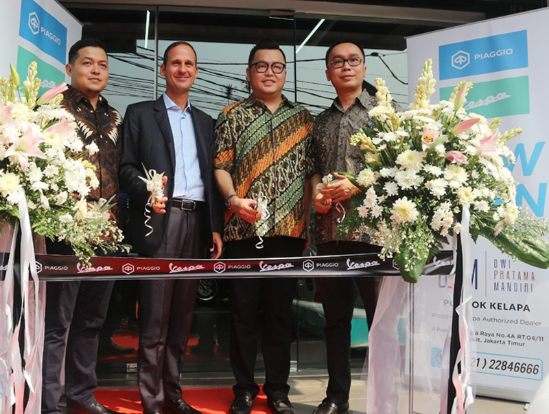 PT Piaggio Indonesia Perkuat Jangkauan 3S di Jabodetabek
