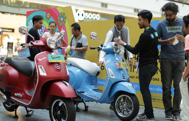 PT Piaggio Indonesia Sapa Customer Setia Melalui Mall to Mall Exhibition