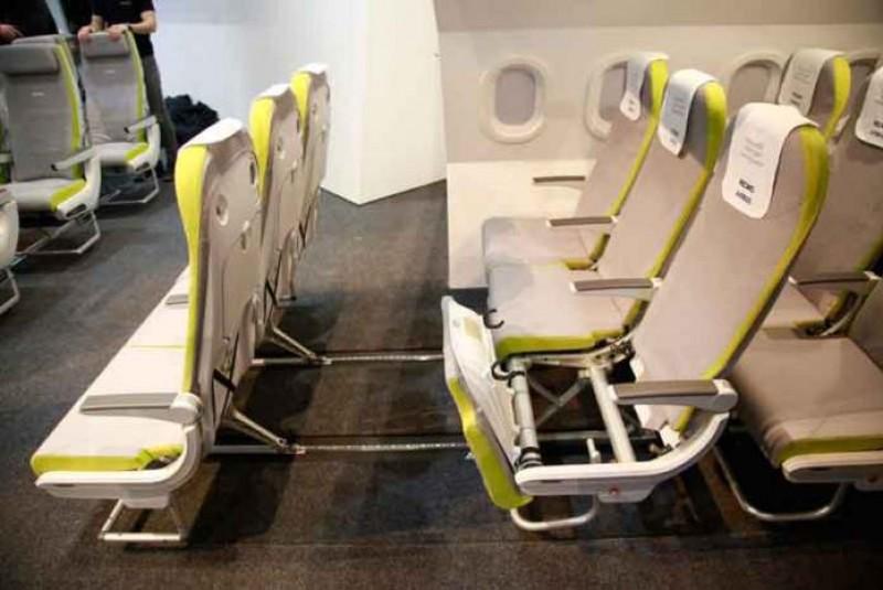Recaro Hadirkan Kursi Cerdas di Pesawat