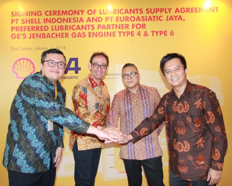 Shell Indonesia Gandeng PT Euroasiatic Jaya Rekomendasikan Pelumas Mesin Gas