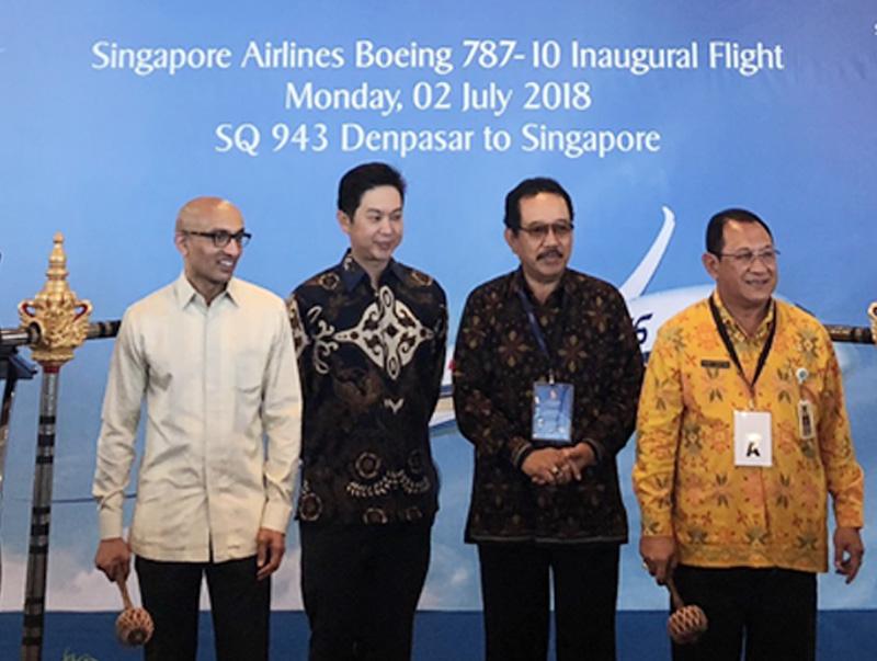SIA Hadirkan Boeing 787-10 Terbaru di Bali