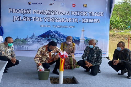 Targetkan Konstruksi Jalan Tol Yogyakarta-Bawen Di Agustus 2021