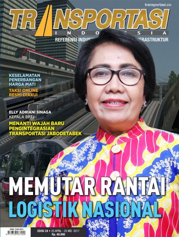 Telah Terbit Majalah Transportasi Indonesia Edisi 24