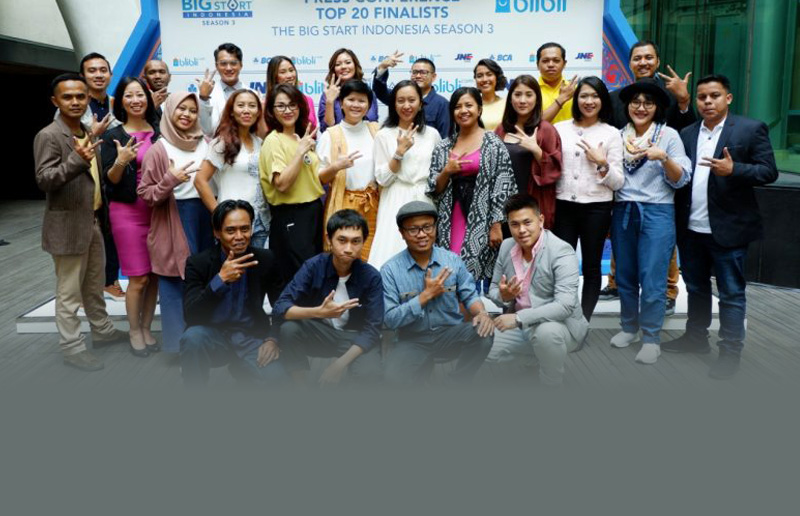 The Big Start Indonesia Masuki Tahap Top 20