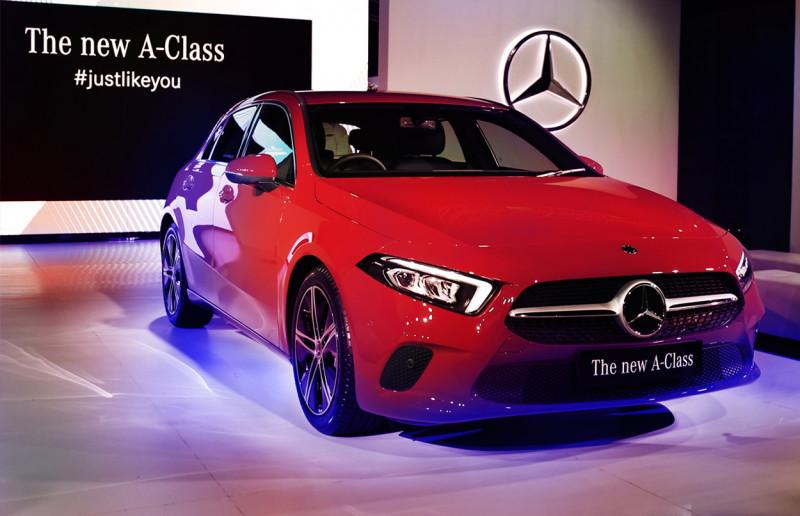 The new Mercedes-Benz A-Class, Sedan Kompak Pertama Berteknologi MBUX